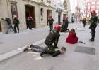 Graves incidentes y ocho detenidos en la huelga estudiantil de la UPV