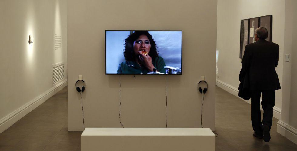 Una de las obras de la exposición 'Index Roma'.