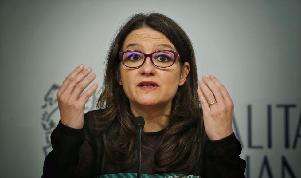 La vicepresidenta y portavoz del Gobierno valenciano, Mònica Oltra.