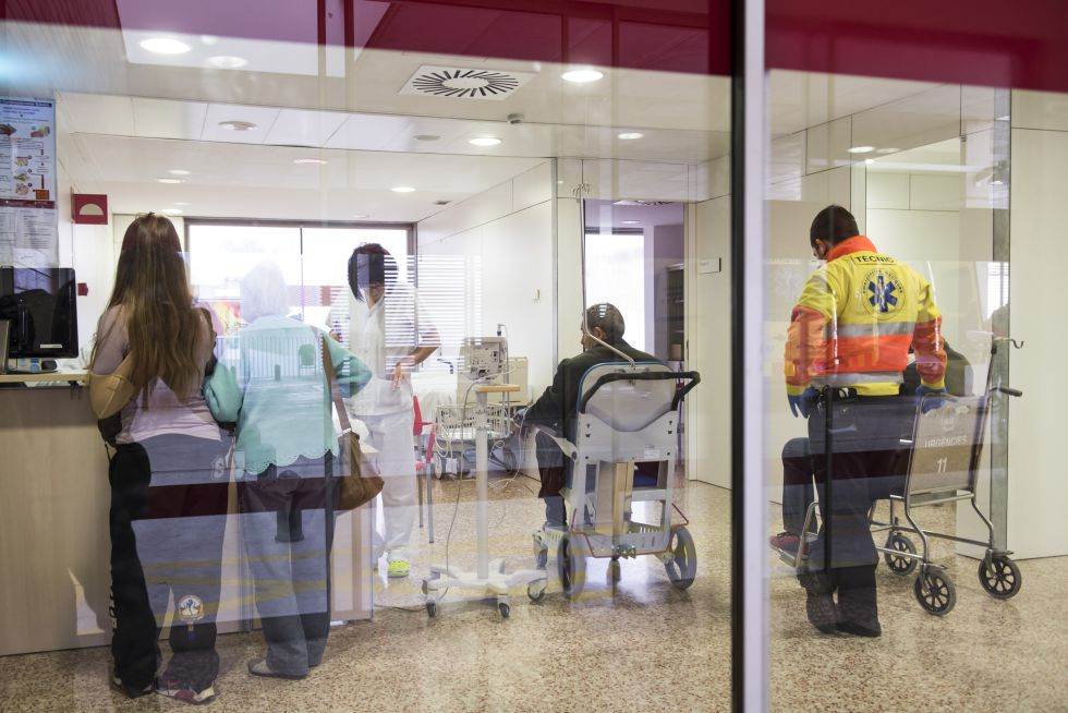 Urgencias de un hospital de Cataluña.