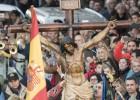 La Legión desfila en L'Hospitalet de Llobregat pese al veto municipal