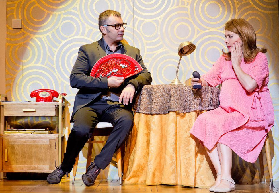 J.J. Vázquez en una escena de la obra estrenada este miércoles