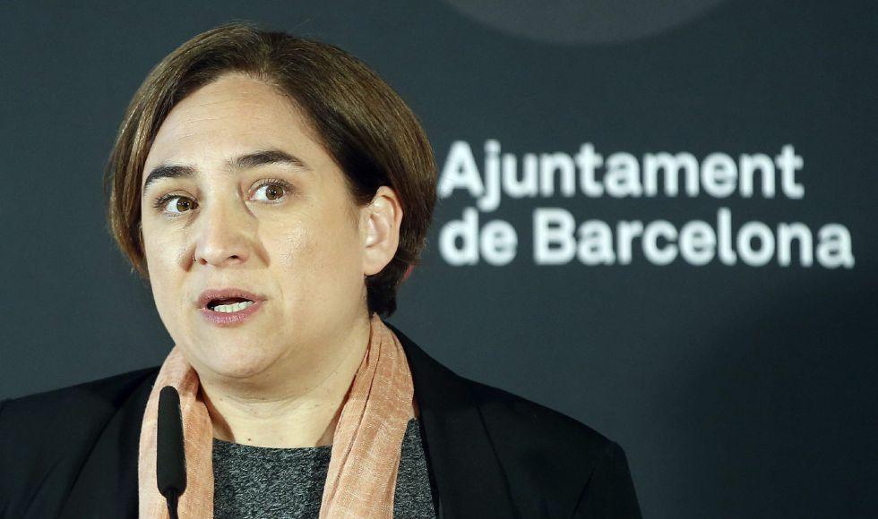 Imagen de archivo de la alcaldesa de Barcelona, Ada Colau.
