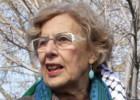 Carmena propone a Madrid ciudad de acogida ante los palestinos