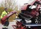 El conductor francés del accidente de Girona tenía el carné retirado
