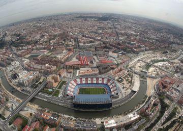 El Atlético incluye un parque elevado junto al Calderón