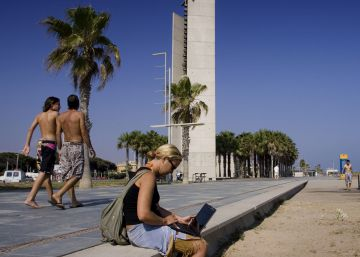Condena a Castelldefels por tolerar el ruido de los chiringuitos