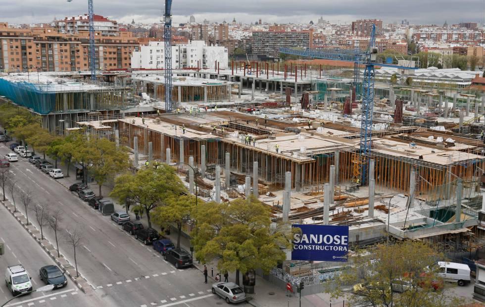 El centro comercial de madrid r o intensifica las obras for Centro comercial sol madrid