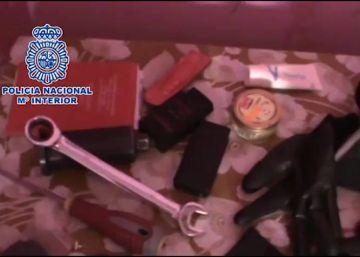 Desarticulado un grupo dedicado a robar máquinas de venta de tabaco