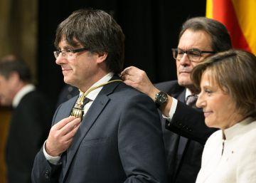 Puigdemont cumple cien días con gestos pero sin ninguna ley