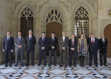 Puigdemont se reúne con los delegados del 'Govern' en el exterior