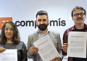 Compromís denuncia al PP de Valencia por delito electoral