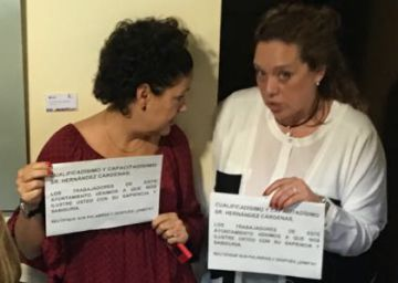 Los trabajadores del Ayuntamiento de Las Rozas piden la dimisión del portavoz de Ciudadanos