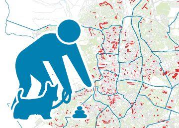 Carmena presenta el primer mapa de excrementos caninos