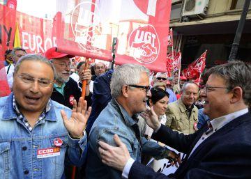 """Los sindicatos piden al Gobierno valenciano un """"cambio"""" más rápido"""