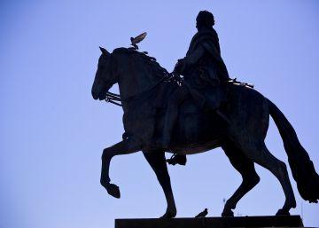"""El rey que """"cambió los pañales"""" a la capital"""