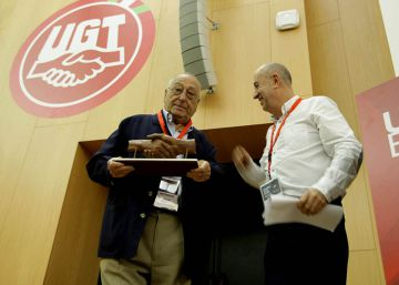 UGT Euskadi rinde homenaje a Nicolás Redondo