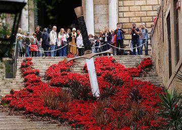 Girona se viste de flores