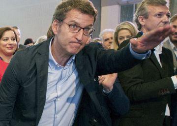 El PP gallego fía todo a una victoria de Feijóo y aparca la sucesión