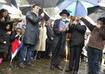 Los judíos de la región recuerdan el Holocausto