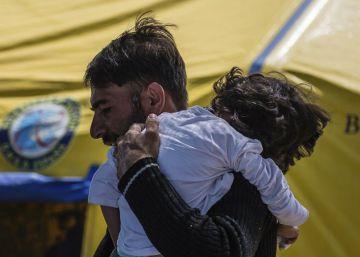 El menor afgano con parálisis cerebral llega a España para ser tratado