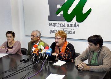 Esquerra Unida deja la negociación con Podemos y Compromís