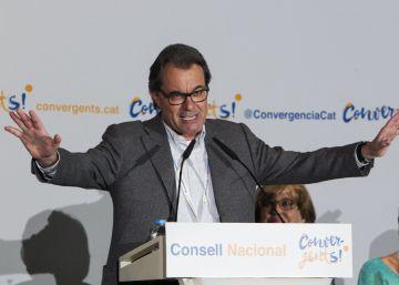 """Mas: """"Como en Israel, hay en Cataluña un pueblo determinado a ser libre"""""""