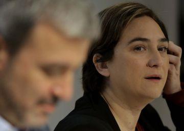 El PSC demana a Colau que no comprometi Barcelona amb el referèndum