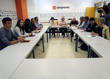 Esquerra Unida pacta las listas al Congreso con Podem y Compromís