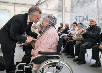 Urkullu ensalza la firmeza democrática de las víctimas del franquismo