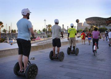 Barcelona regulará el uso de los patinetes eléctricos