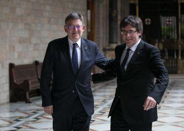 """Puigdemont y Puig entierran la era """"anticatalanista"""" del PP"""