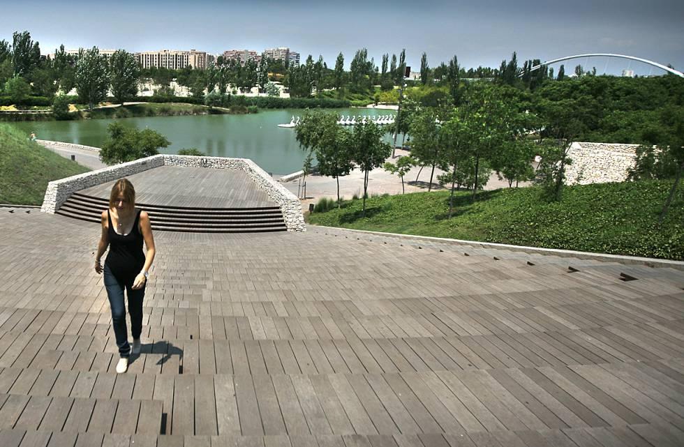 Parque de Cabecera de Valencia, en la parte alta del viejo cauce del Turia en la ciudad.