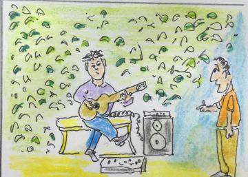 Guitarra de aire