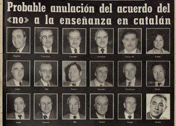 """Cuando el Ayuntamiento de Barcelona dijo """"no"""" al catalán"""