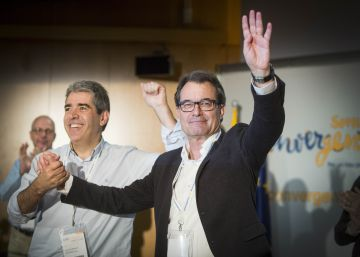 Artur Mas cerrará la lista de CDC en el Congreso