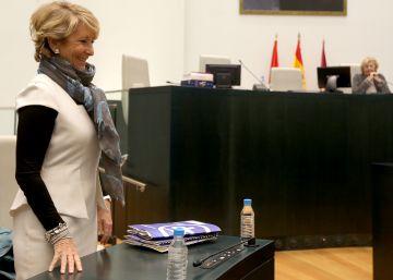 Aguirre critica el plan Chamartín del BBVA y aboga por tirar el edificio España