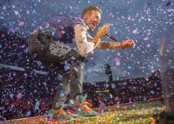 Con Coldplay en la guardería