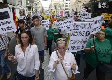 Las Marchas de la Dignidad protestan por las calles valencianas