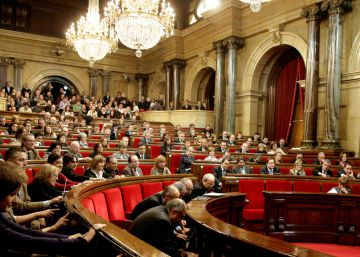 El Parlament inicia el trámite de la primera ley de ruptura