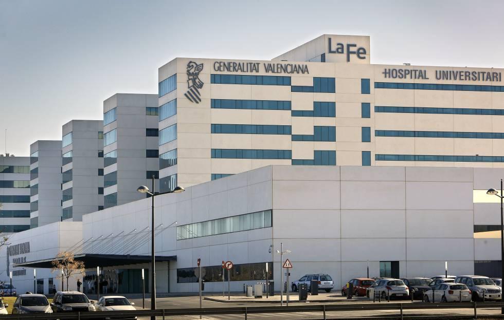 Hospital La Fe de Valencia, el centro de referencia en la Comunidad Valenciana.