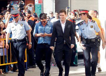 Los exasesores de Messi lo desvinculan de la gestión tributaria