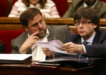 Puigdemont busca nuevos apoyos con un cambio de la hoja de ruta