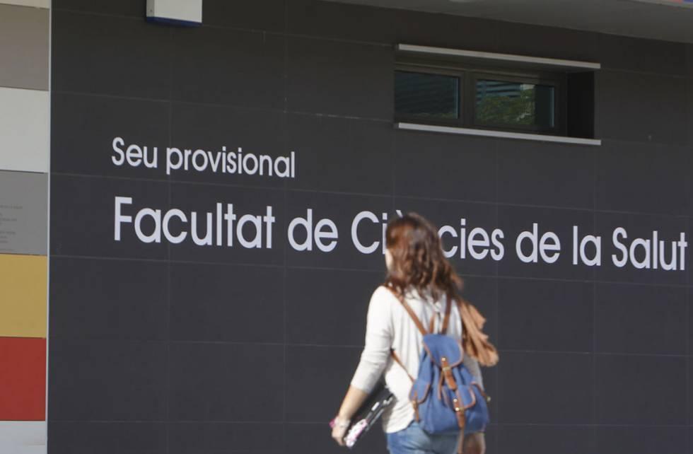Facultad de Ciencias de la Salud de la Universidad Jaume I de Castellón.