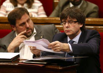 Puigdemont reúne a las entidades soberanistas tras el veto de la CUP