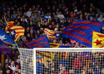 La UEFA multa al Barça de nuevo por exhibir esteladas en la Champions