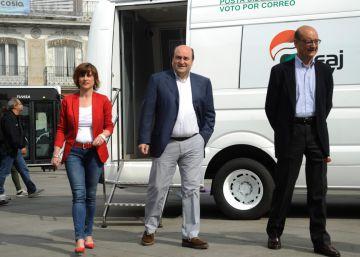 """Ortuzar: Valen más 6 diputados del PNV que 120 """"atrincherados"""" del PP"""