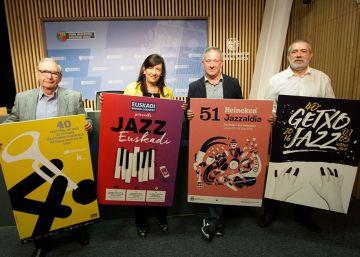 Figuras del jazz posarán para promocionar el turismo en Euskadi
