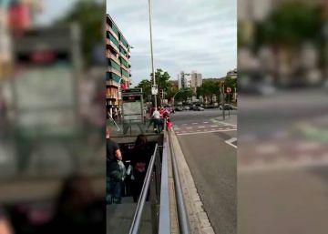'Ultras' del Sant Andreu agredieron a los seguidores de La Roja