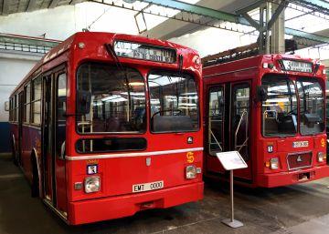 Los autobuses antiguos de la EMT vuelven a circular por Madrid